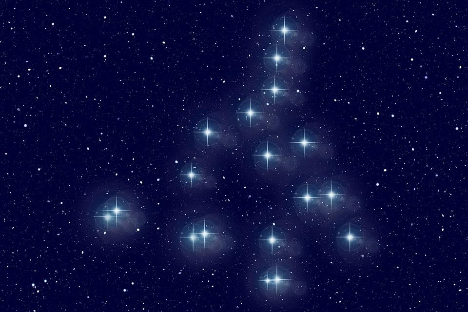 Big Bar, Star, Constellation, Universe, Sun, Space, All