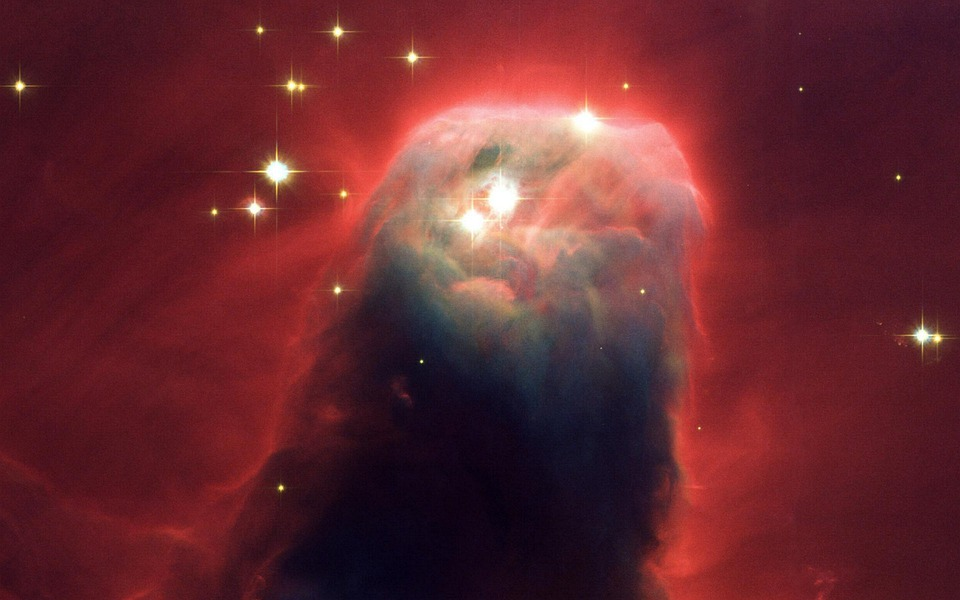 Cone Nebula, Dark Nebula, Constellation Unicorn