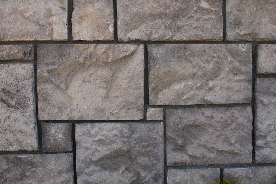 Stone, Wall, Blocks, Background, Gray, Construction