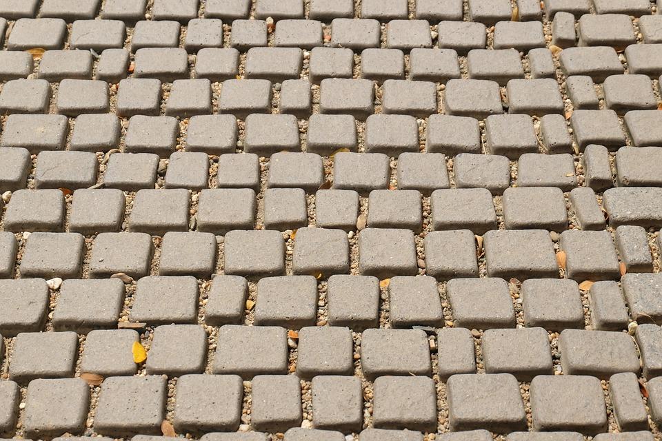 Brick, Block, Ground, Floor, Construction, Building