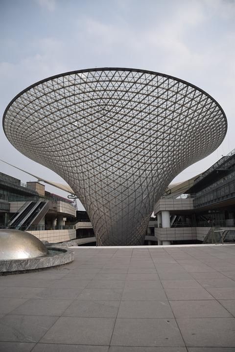 Expo 2010, Shanghai, Architecture, Construction