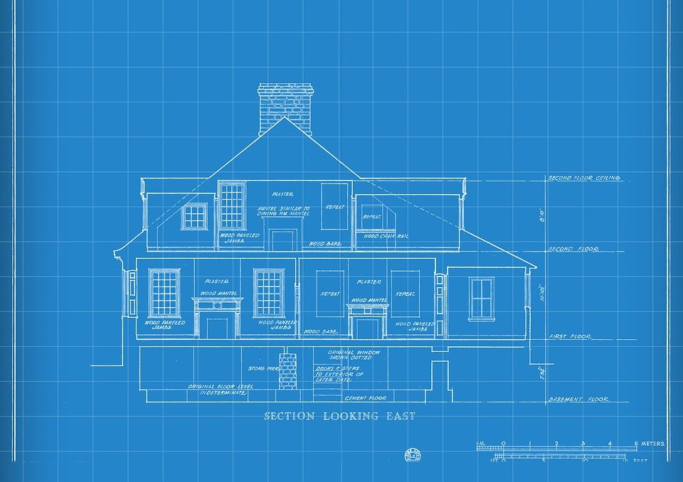 Free photo construction house drawing technology blueprint max pixel technology blueprint house drawing construction malvernweather Image collections