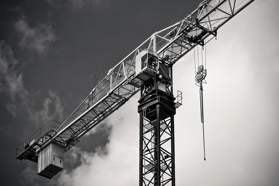 Industry, Crane, Machine, Sky, Construction Machine
