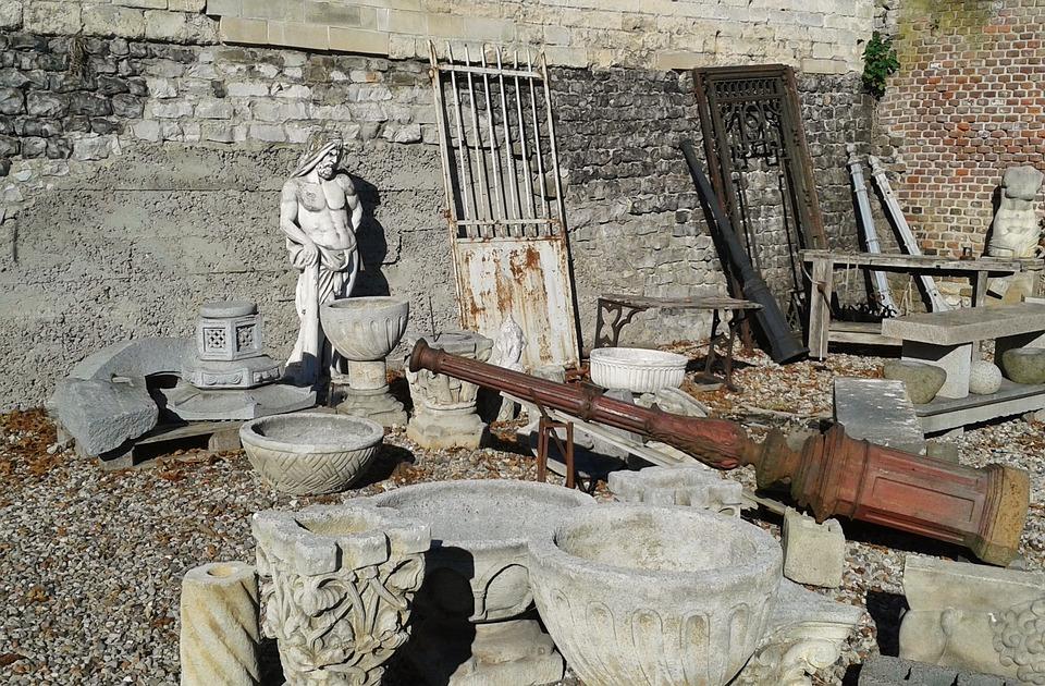 Antique Market, Antiques, Construction Material