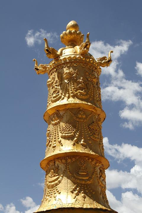 Qinghai, Si 廟, Construction