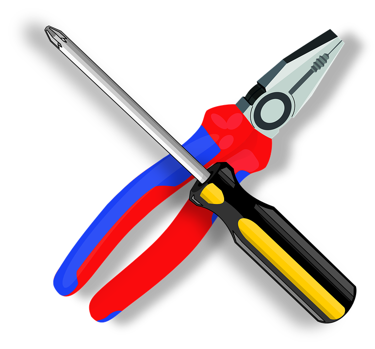 Tool, Pliers, Screwdriver, Construction, Equipment
