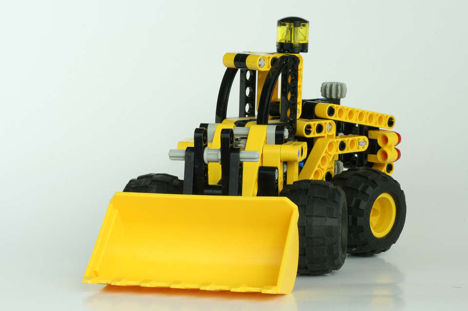 Lego, Technic, Shovel, Construction, Plastic, Toy