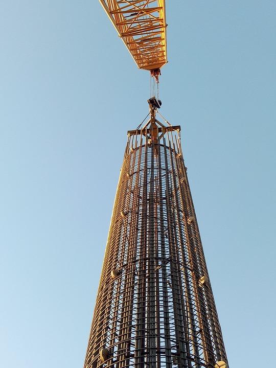 Vertical, Building, Construction Site