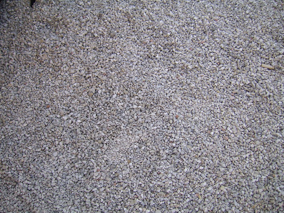 Gravel, Stones, Grey, Road, Path, Construction