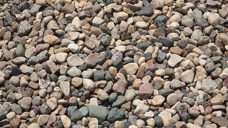 Rocks, Texture, Landscaping, Stones, Construction