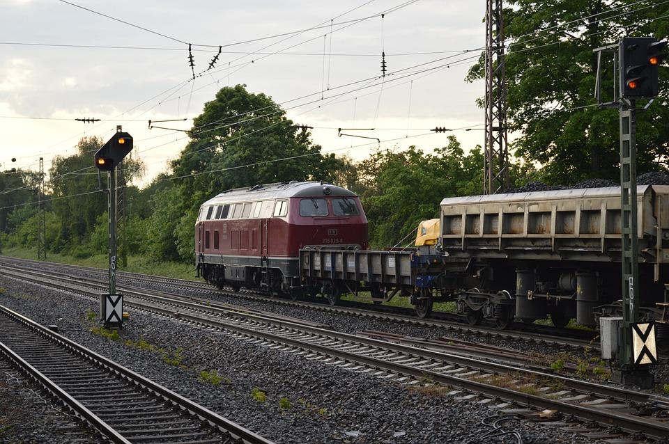 Construction Train, Diesel Locomotive, Train
