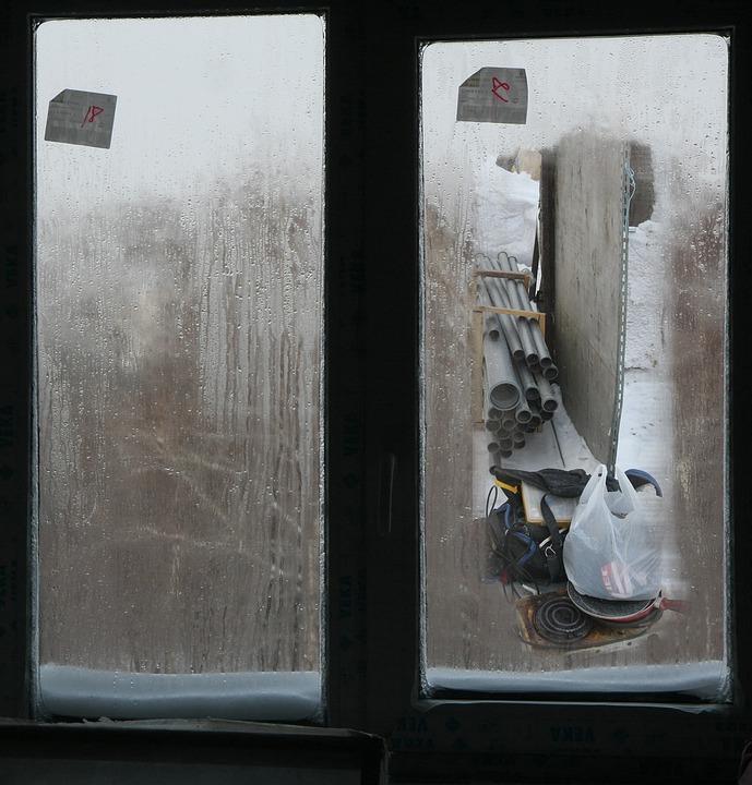 Window, Winter, Construction, Tools, Through The Window