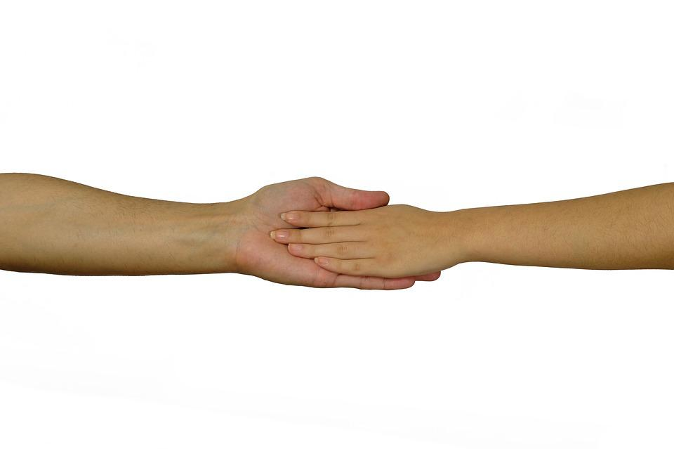 Hands, Contact, Affection, Connectedness, Tender