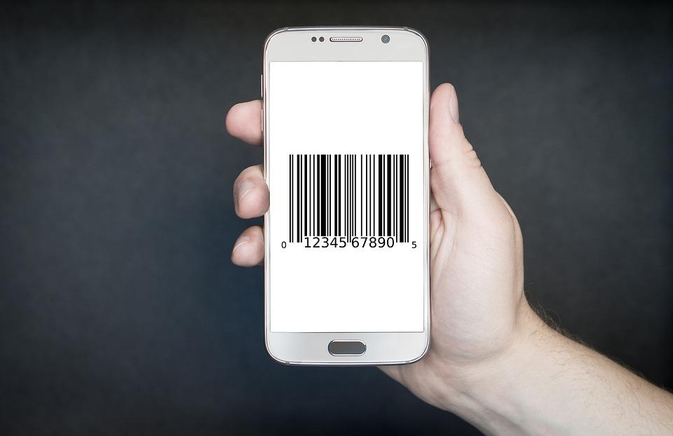 Smartphone, Bar, Code, Contactless, App, Technology