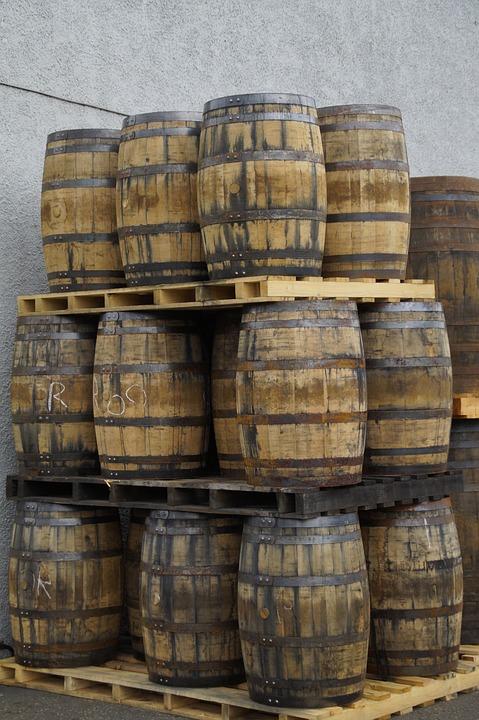 Whisky, Barrels, Wooden Barrels, Container, Storage