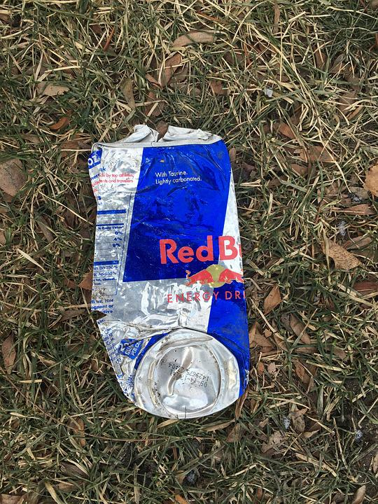 Smashed, Soda, Drink, Container, Recycling