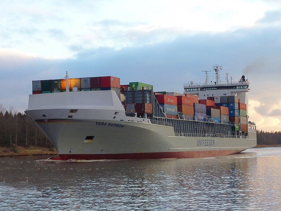 Frachtschiff, Ship, Freighter, Container Ship