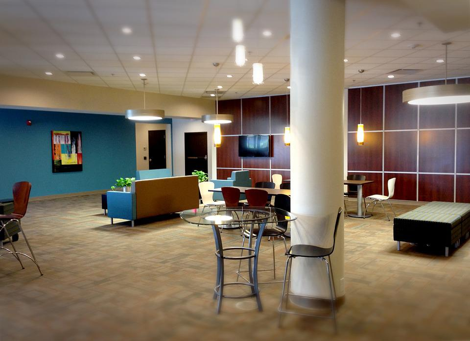 Lobby, Office, Business, Contemporary, Lounge