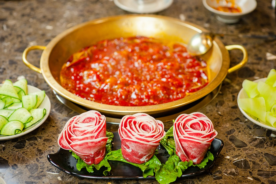 Chafing Dish, Content, Beef