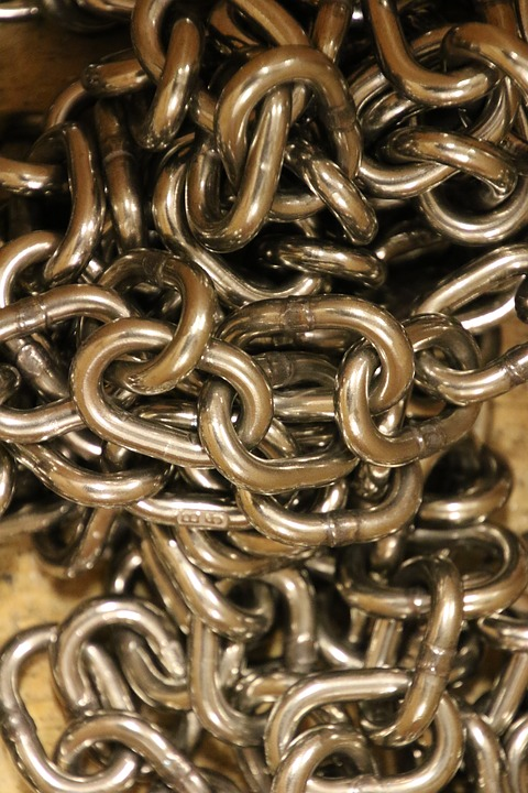 Iron, Steel, Chain, Context, Strong, Strength, Led