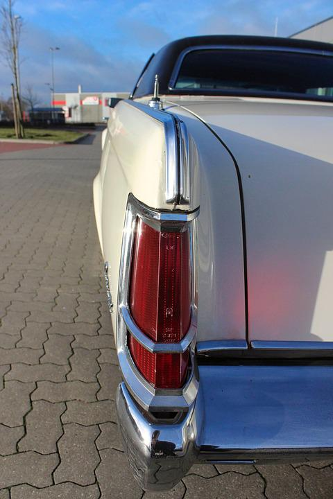 Auto, Back Light, Continental, Oldtimer, American