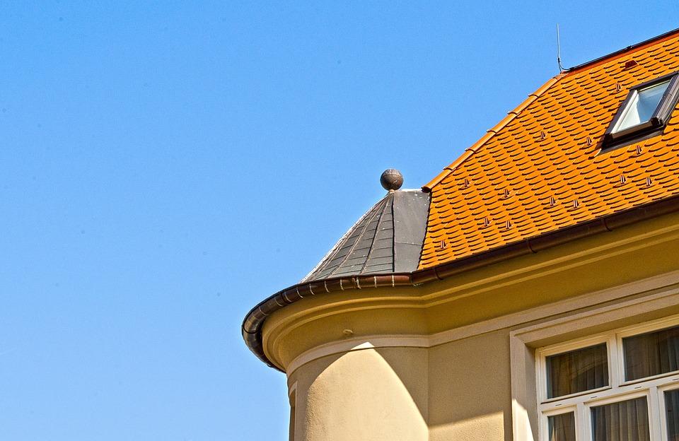 Building, Contrast, Heaven, Czech Budejovice