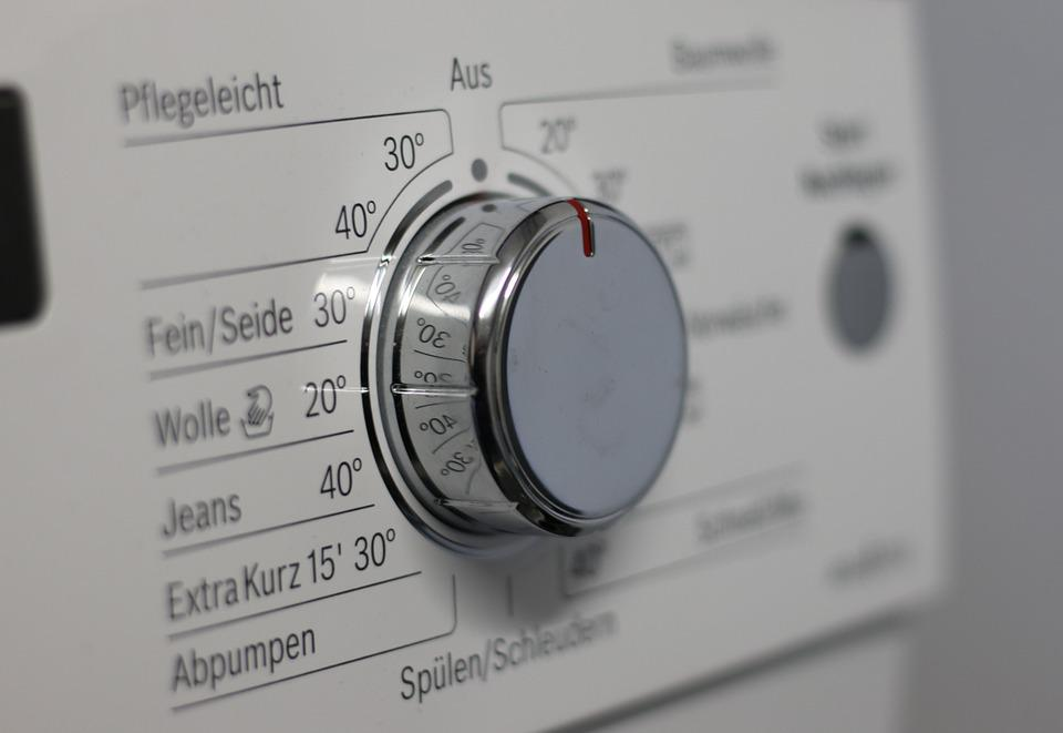 Switch, Knob, Washing Machine, Control Panel, Display
