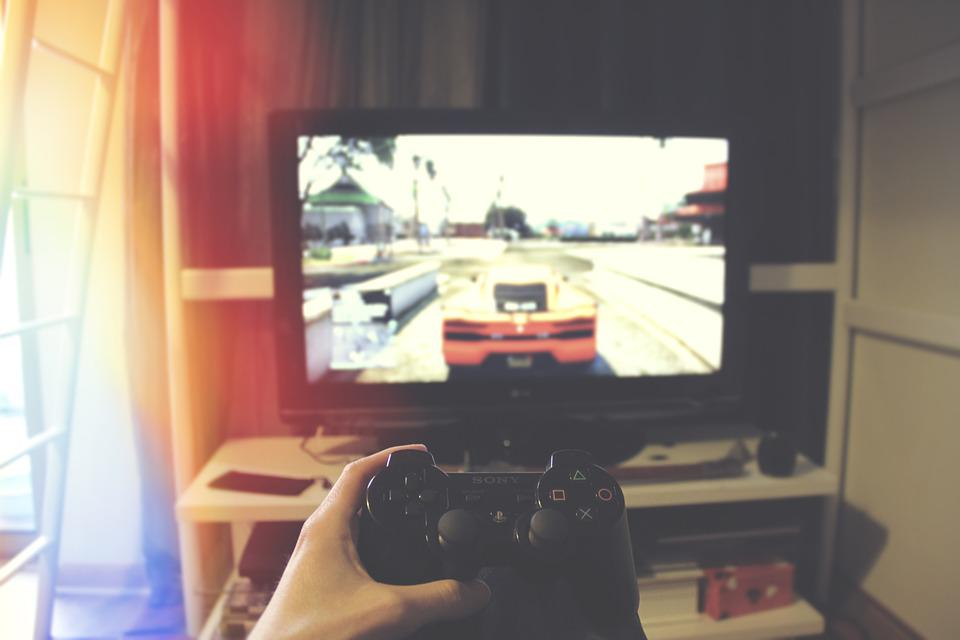 Playstation, Computer, Console, Controller, Game, Gamer