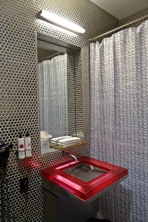 Rest Room, Sink, Convenience, Contemporary, Design