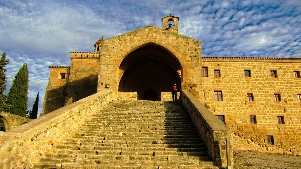 Horta De Sant Joan, Convent San Salvador, Architecture