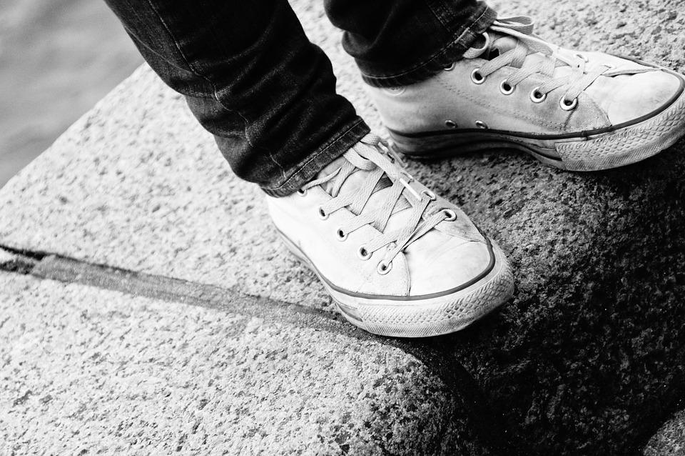 Black And White, Shoes, Converse, Black White, Chuck's