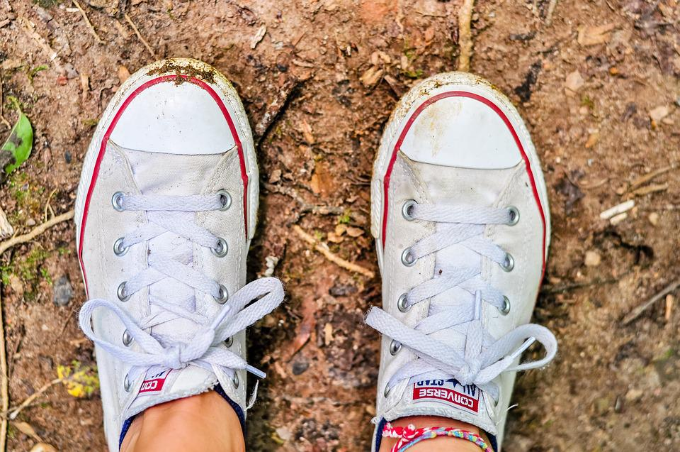 Free photo Converse Shoes Converse Red Shoes Shoes White Shoes - Max ... 72d15c8a6