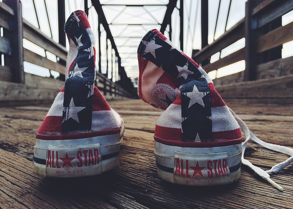 Sneakers, Converse, Chucks, Worn, Grungy