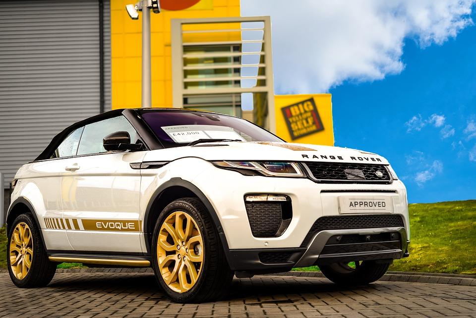 Range Rover Evoque Convertible, Convertible, Suv