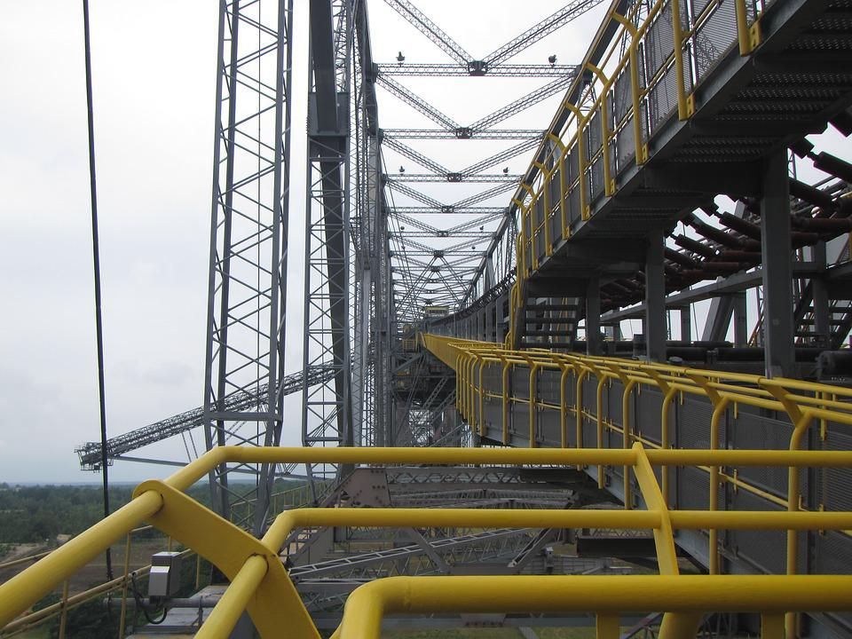 Conveyor Bridge, Takraf, Carbon, Machine, Brandenburg