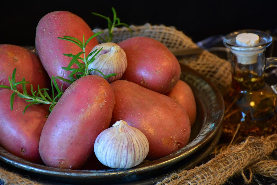 Potatoes, Red, Red Shell, Carbohydrates, Food, Cook