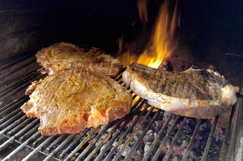 Meat, Roast, Cook, Beef, Steak, Fiorentina, Foods