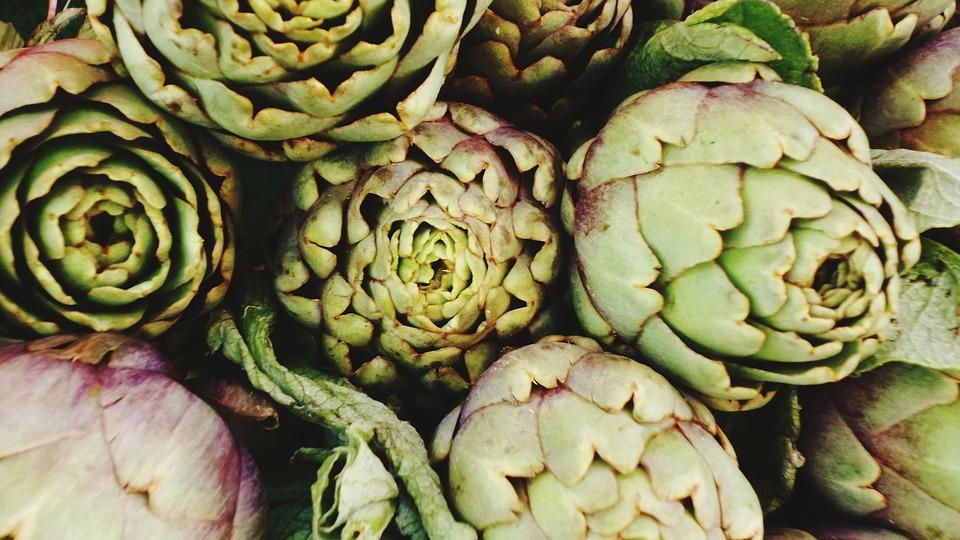 Artichokes, Cook, Eat, Healthy, Market, Food