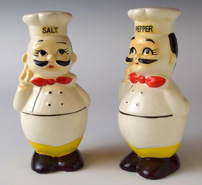 Shakers, Salt, Pepper, Seasoning, Chefs, Cooking, Cook