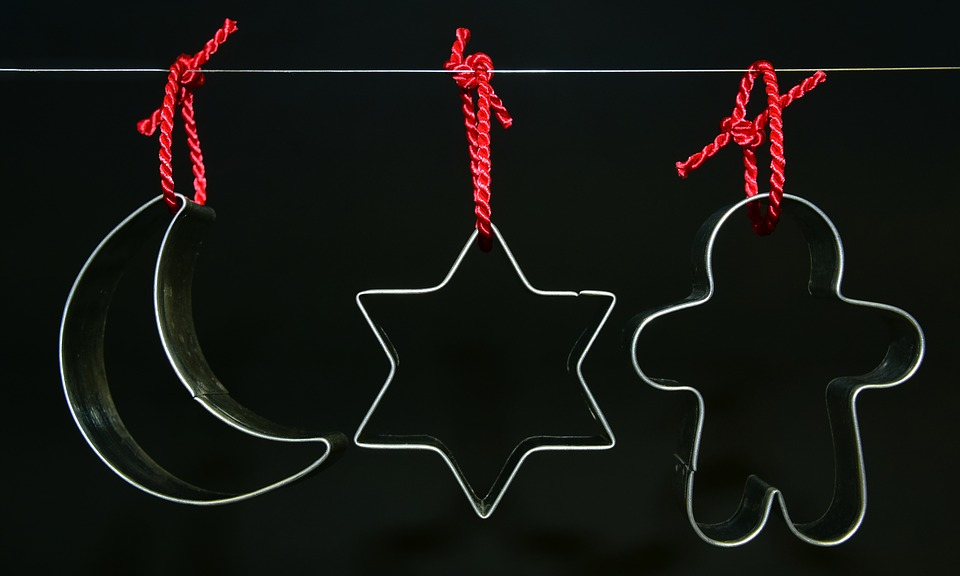 Cookie Cutter, Cookie Cutters, Christmas, Bake