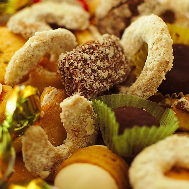 Cookies, Christmas, Vanillekipferl