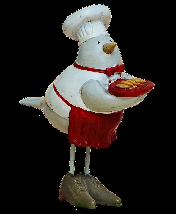 Cooking, Cook, Bake, Birds, Easter, Funny, Figures