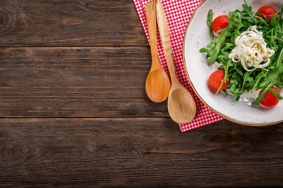 Salad, Food, Italian, Tasty, Wooden, Cooking, Plate