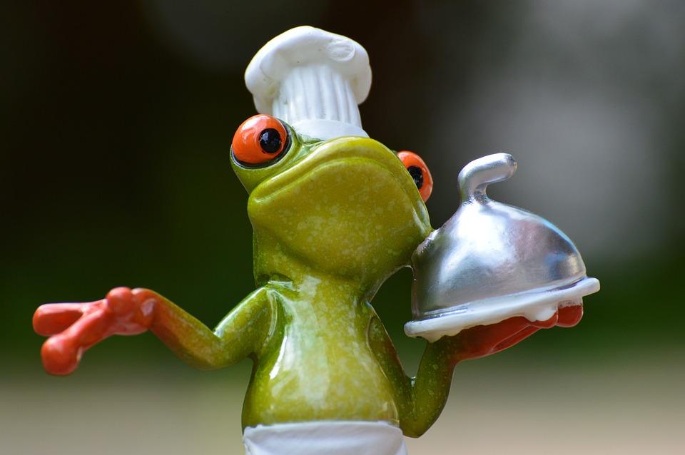 Frog, Cooking, Eat, Kitchen, Gourmet, Food, Preparation