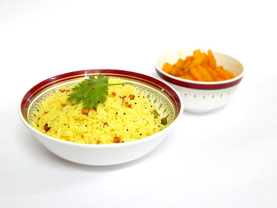 Lemon Rice, Meal, Potato Fry, Lunch, Cooking, Cuisine