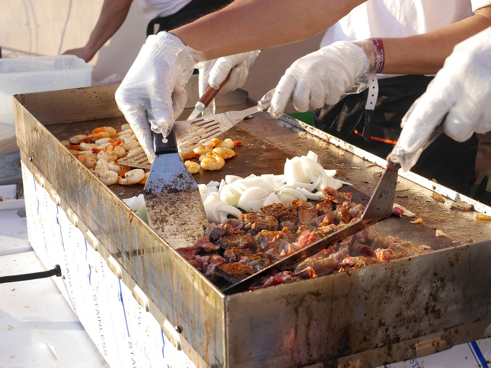 Food, People, Production, Cooking, Meat, Dining