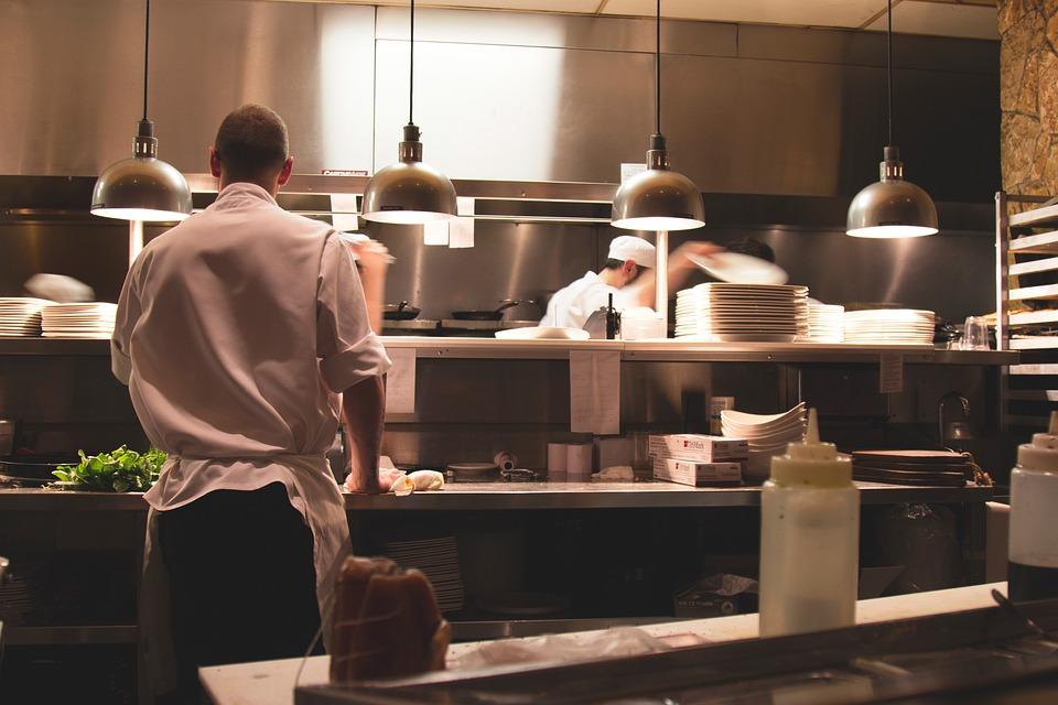 Restaurant Kitchen Chefs free photo cooks chefs food restaurant kitchen - max pixel