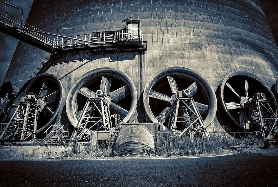 Fan, Cooling, Propeller, Cooler, Turn, Air