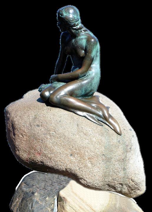 Water, Monument, Copenhagen, Denmark, Sculpture