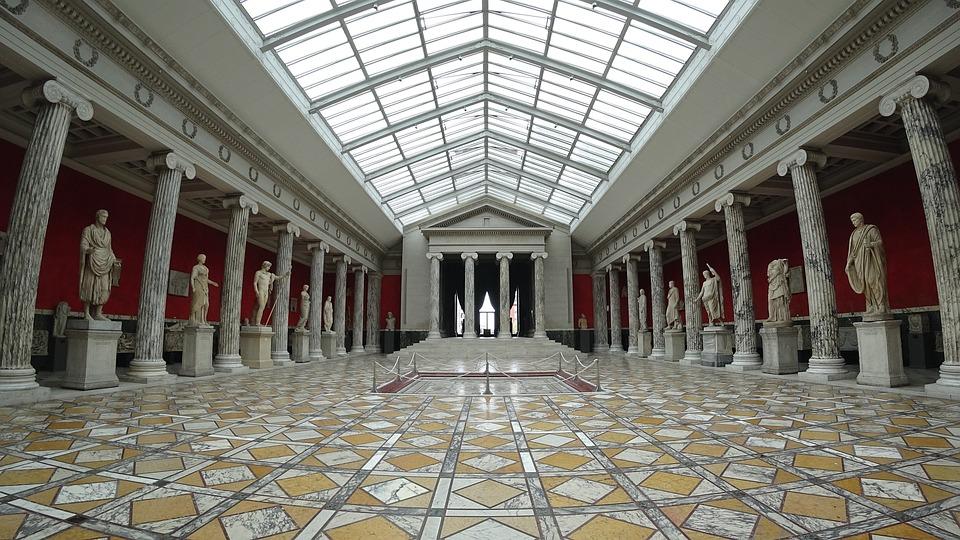 Copenhagen, Denmark, Glyptotek, Museum, Sculpture